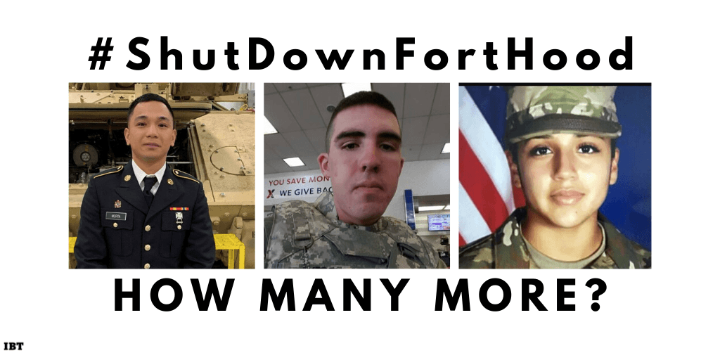 Shut Down Fort Hood demands rise; 3 minority soldiers dead in a month