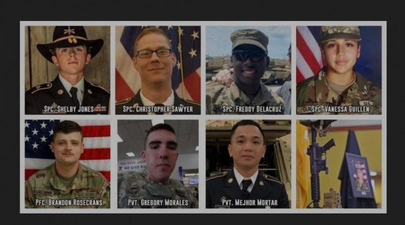 Victims of Fort Hood