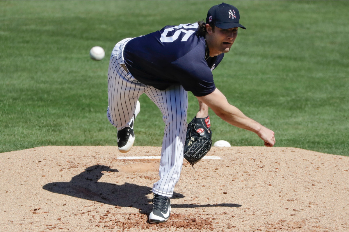 Gerrit Cole's teammates will be his first Yankees test intrasquad game