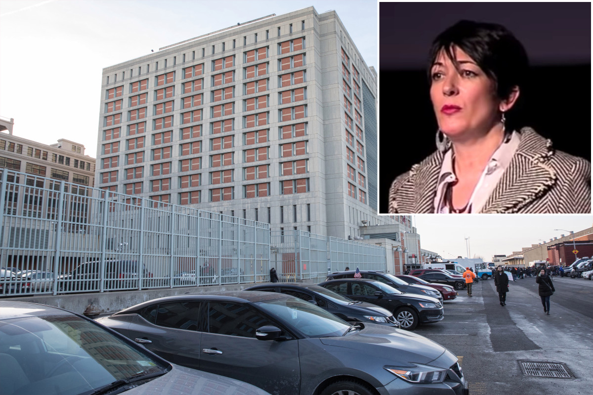 Ghislaine Maxwell leaves luxe life for 10-by-12-foot jail cell