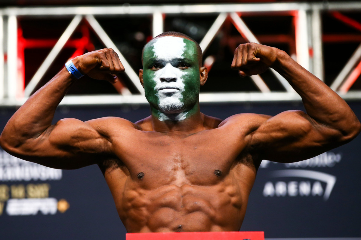 Handicapping Jorge Masdival-Kamaru Usman bout at Fight Island