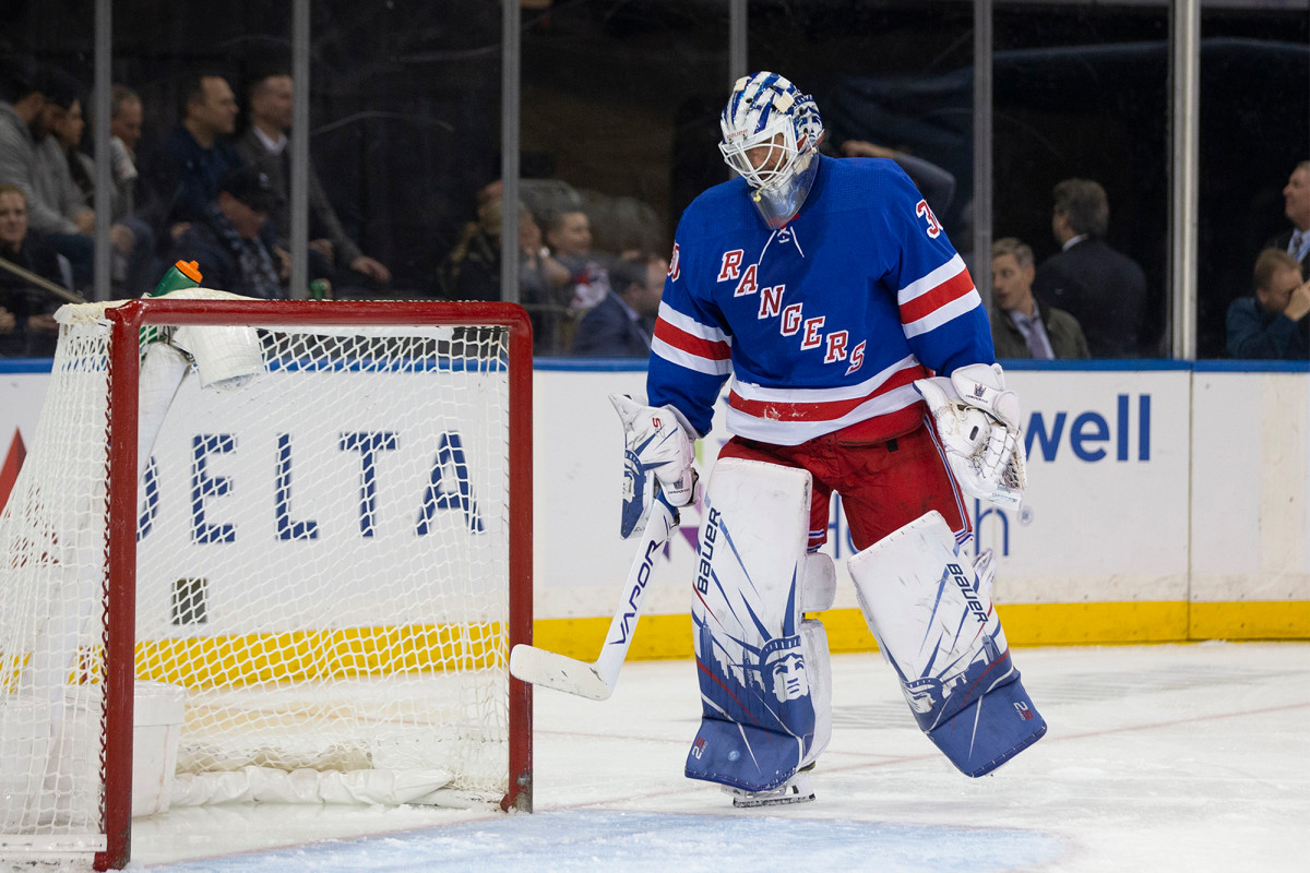 Henrik Lundqvist only goalie not at Rangers workouts