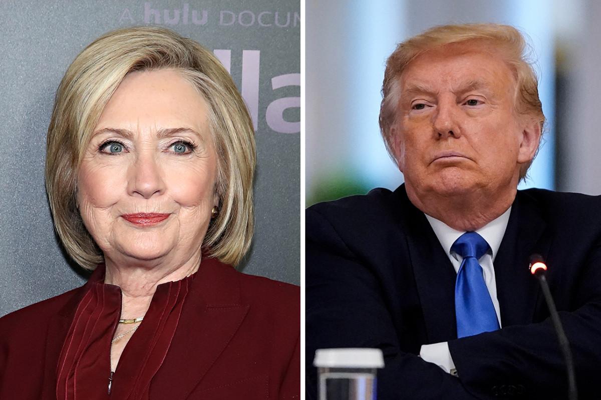 Hillary Clinton Predicts a Trump Loss in November