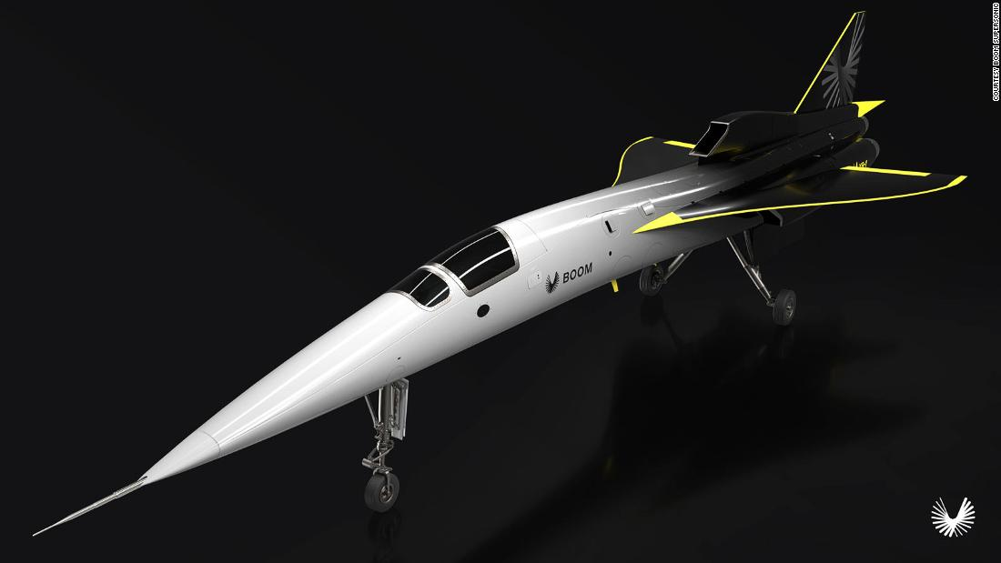 Boom supersonic jet set for 2021 take off