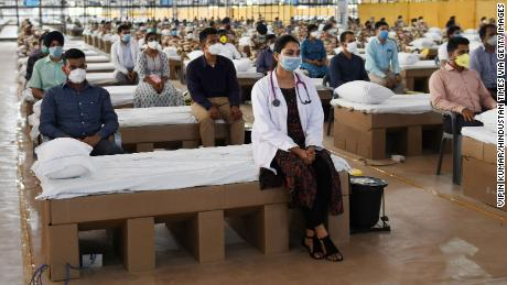 India opens one of the world's largest hospitals to fight coronavirus