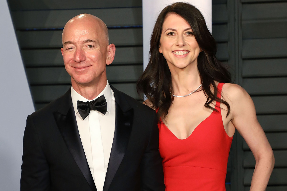Jeff Bezos' ex MacKenzie reveals she's donated $1.7B in 2020