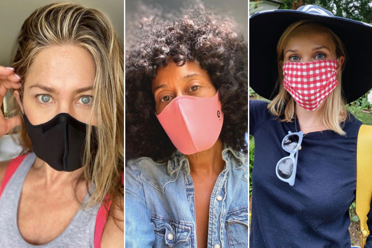 Jennifer Aniston, more celebrities urge fans to 'wear a damn mask'