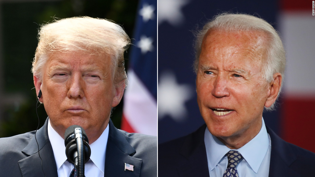 Joe Biden maintains double-digit lead over Trump in new national poll