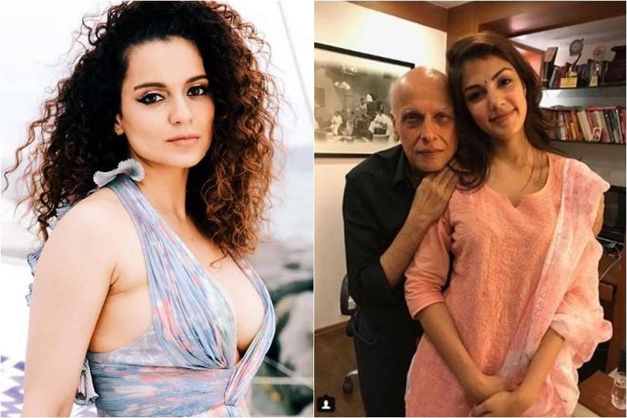 Kangana Ranaut, Rhea Chakraborty, Mahesh Bhatt