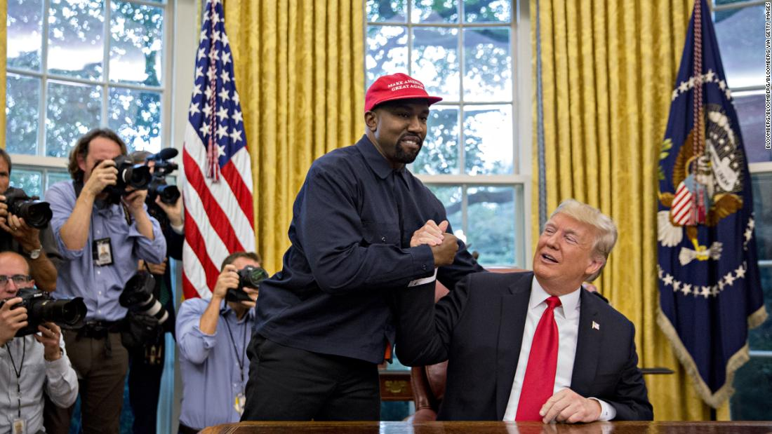 Kanye West says he no longer supports Trump and that he had coronavirus