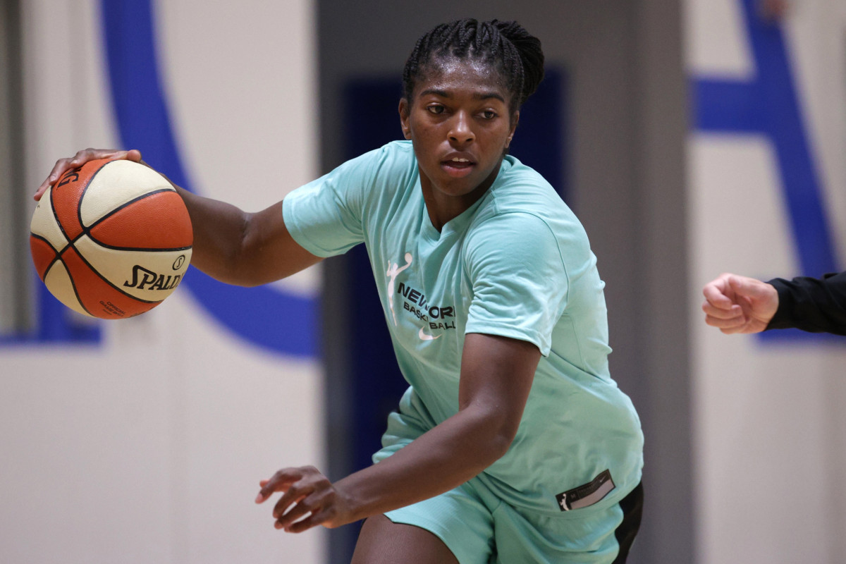 Liberty rookie Jocelyn Willoughby looks to make impact on and off court