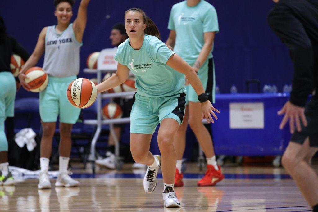Liberty's Sabrina Ionescu finds comfort in WNBA bubble