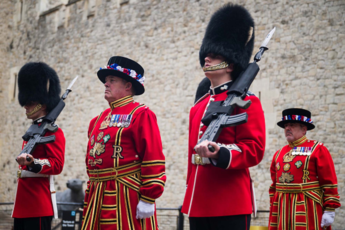 London's famed 'Beefeater' guards may face layoffs