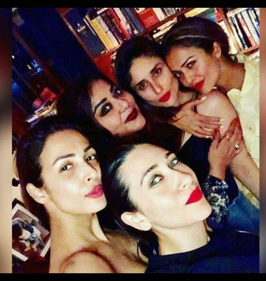 Malaika Arora, Kareena Kapoor Khan, Karisma Kapoor, Amrita Arora