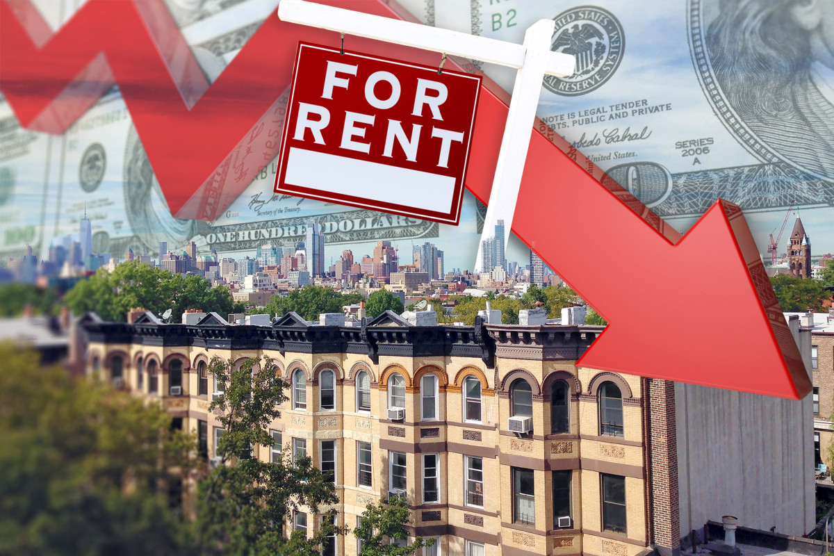 Manhattan rents drop for the first time in a decade