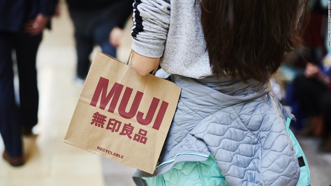 Muji is the latest retailer to file for bankruptcy