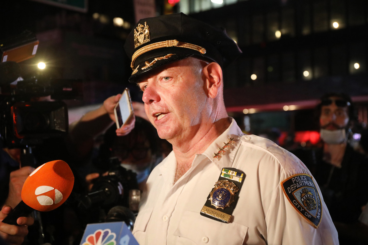 NYPD's Monahan calls part of anti-chokehold bill 'dangerous'