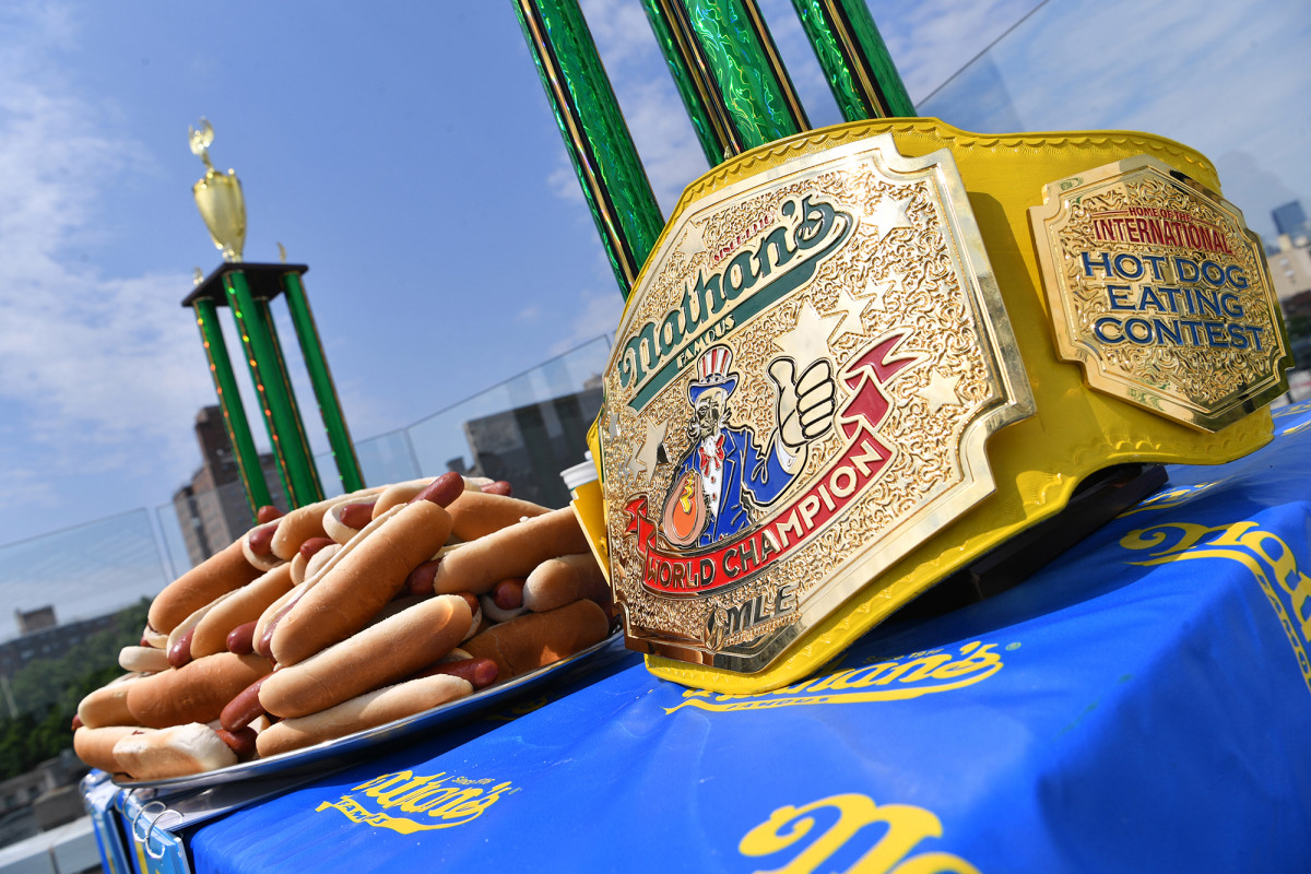 Nathan's Famous hot dog-eating champs defend titles in secret locale