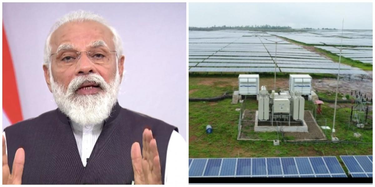 PM dedicates Rewa Ultra Mega Solar Power project to nation (2nd Ld)