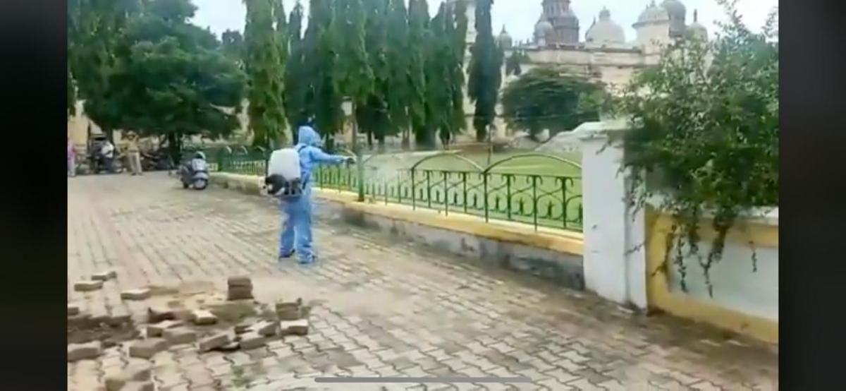 Mysuru Palace sealed, staff tests Covid positive; sanitisation begins