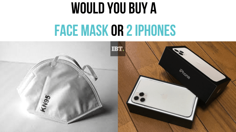 Pune man flaunts face mask costlier than two latest iPhones