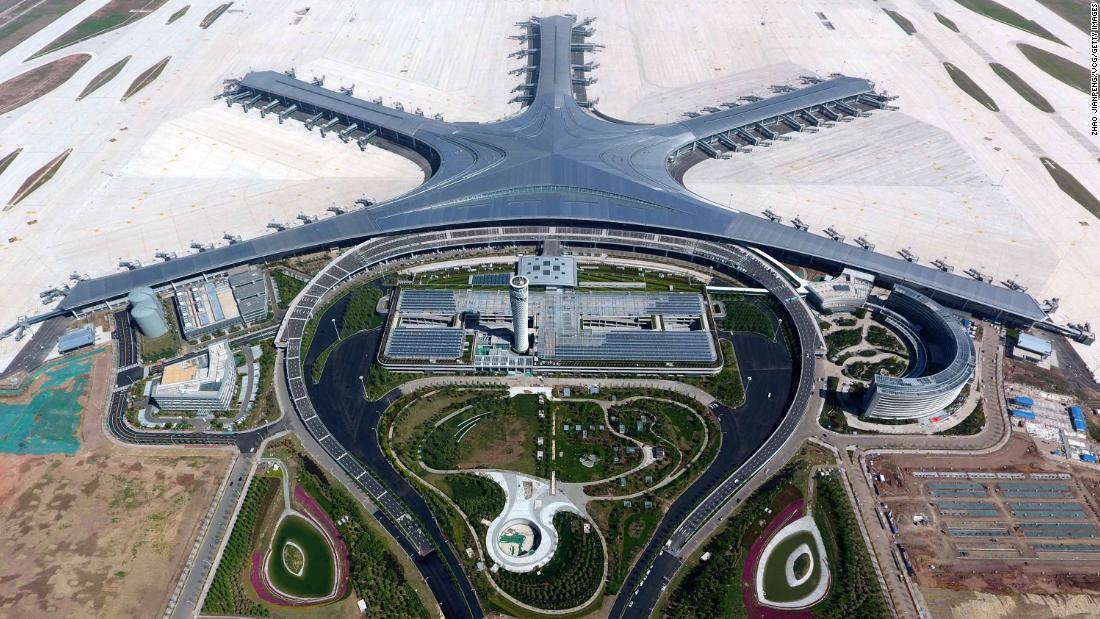 Qingdao Jiaodong International Airport: China's latest starfish-shaped airport