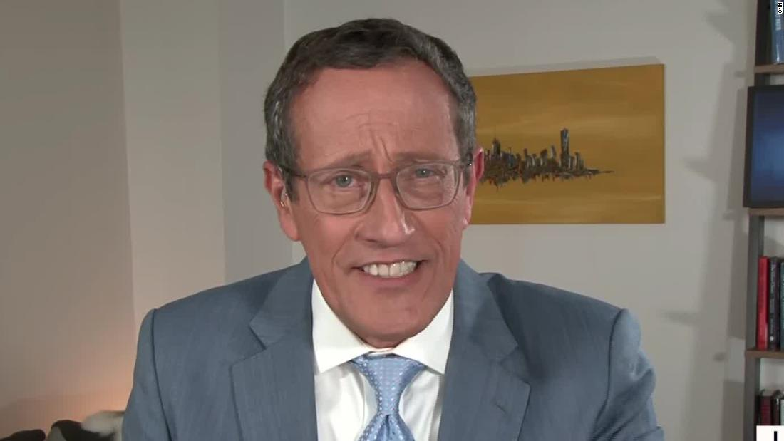 Richard Quest: I got Covid-19 two months ago. I'm still discovering new areas of damage