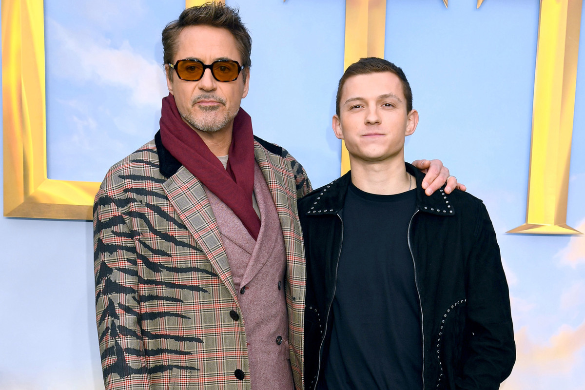 Robert Downey Jr., Tom Holland promise gifts to boy who saved sister from dog