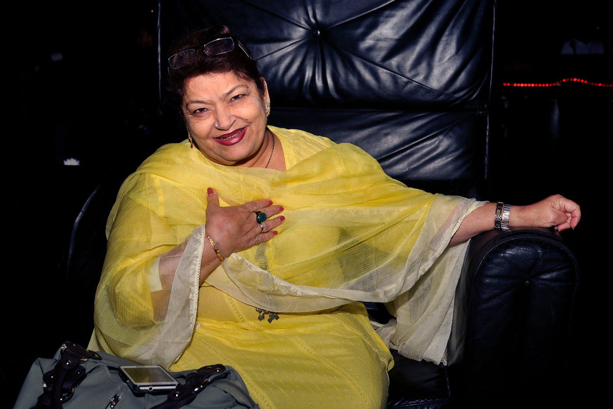 Saroj Khan, famed Bollywood film choreographer, dead at 71