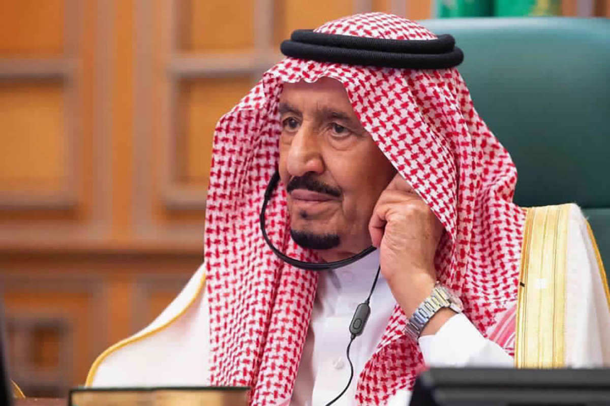 Saudi Arabia's King Salman admitted to hospital for tests