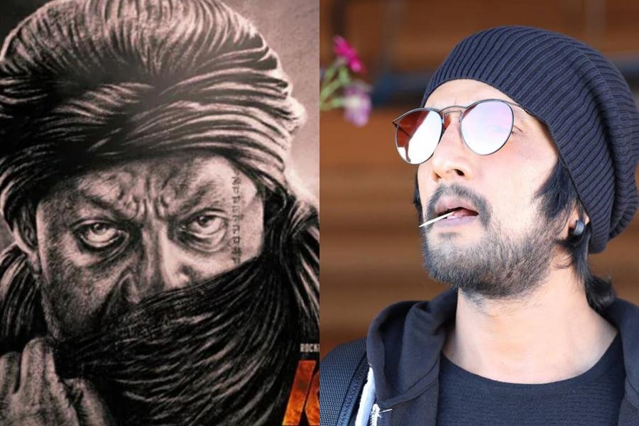 Sanjay Dutt and Sudeep