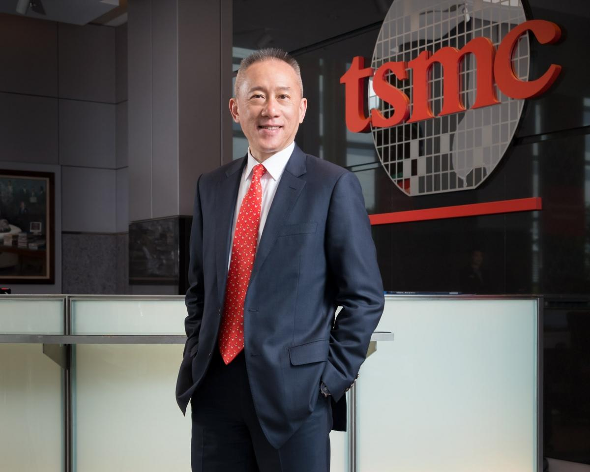 Wendell Huang, VP and Chief Financial Officer of TSMC
