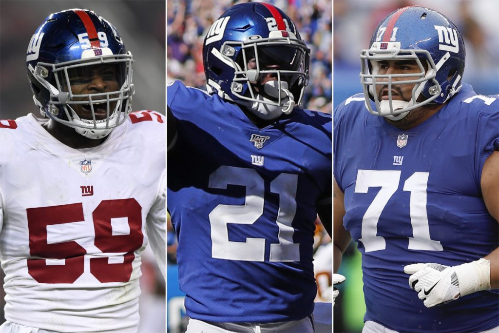 The Giants players with most to verify through 2020 NFL time