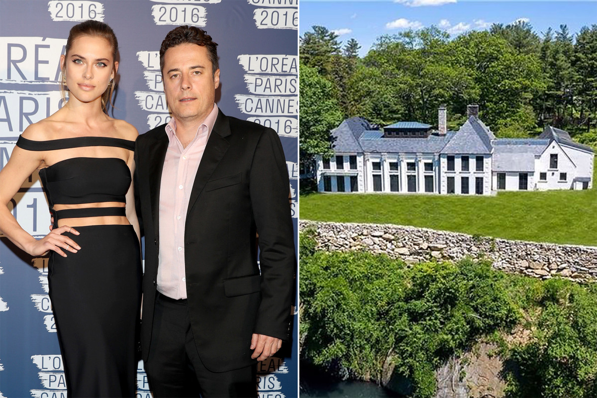 The former Westchester home of Seychelles diplomat Justin Etzin and his then-wife, model Lana Zakocela, is back on the market for $3.37 million.