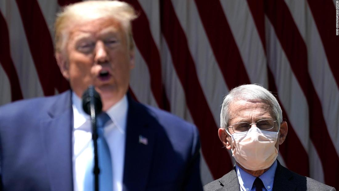 Trump calls Fauci 'a little bit of an alarmist' as coronavirus cases rise