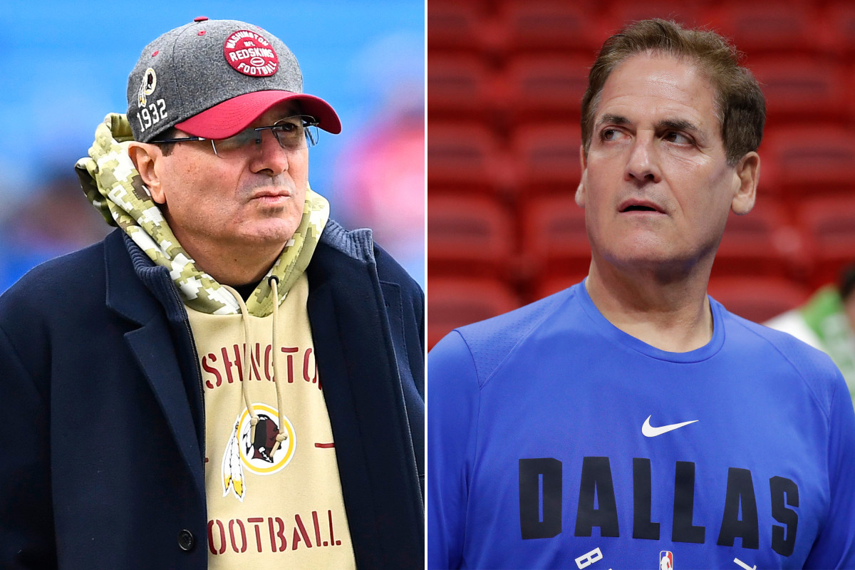 Washington's Dan Snyder must accept his mistakes: Mark Cuban
