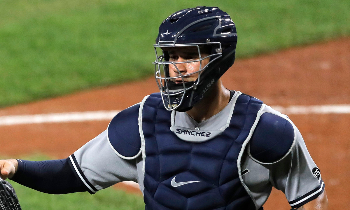 Yankees' Gary Sanchez, Brett Gardner still 0 for the season