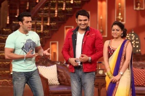 Salman Khan on 'Comedy Nights With Kapil'