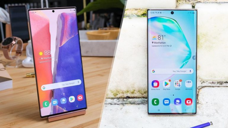 Samsung Galaxy Note 20 Ultra vs. Galaxy Note 10 Plus: What's different?