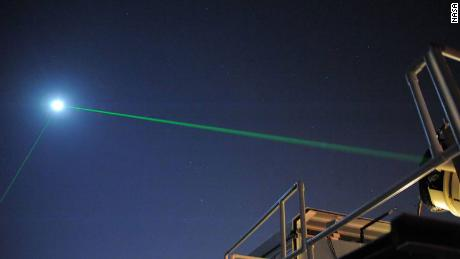 The reason we're shooting laser beams between Earth and the moon