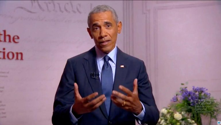 'No interest in helping anyone but himself and his friends' - Barack Obama launches scathing attack on Trump's presidency