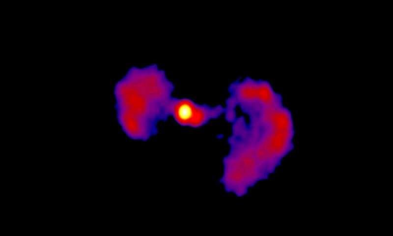 NASA missions explore a 'TIE Fighter' active galaxy