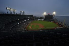 After lengthy delay, Giants and Dodgers join sports-wide strike