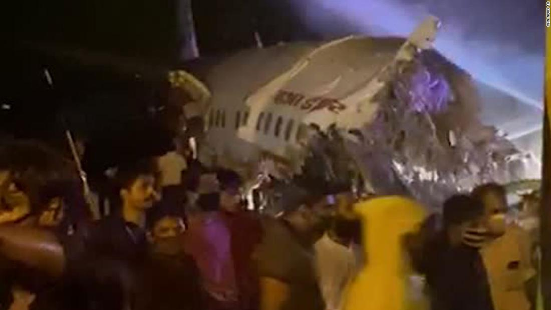 Air India crash in Kerala kills 18 after plane skids off runway