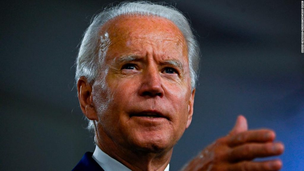 Biden to decide on VP for 2020 election ballot