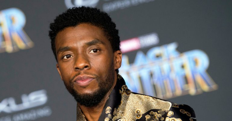 Chadwick Boseman, Star of 'Black Panther,' Dies at 43