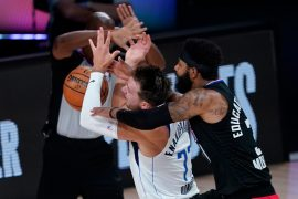 Clippers Morris responds to Mavs' Doncic for comments after hard foul