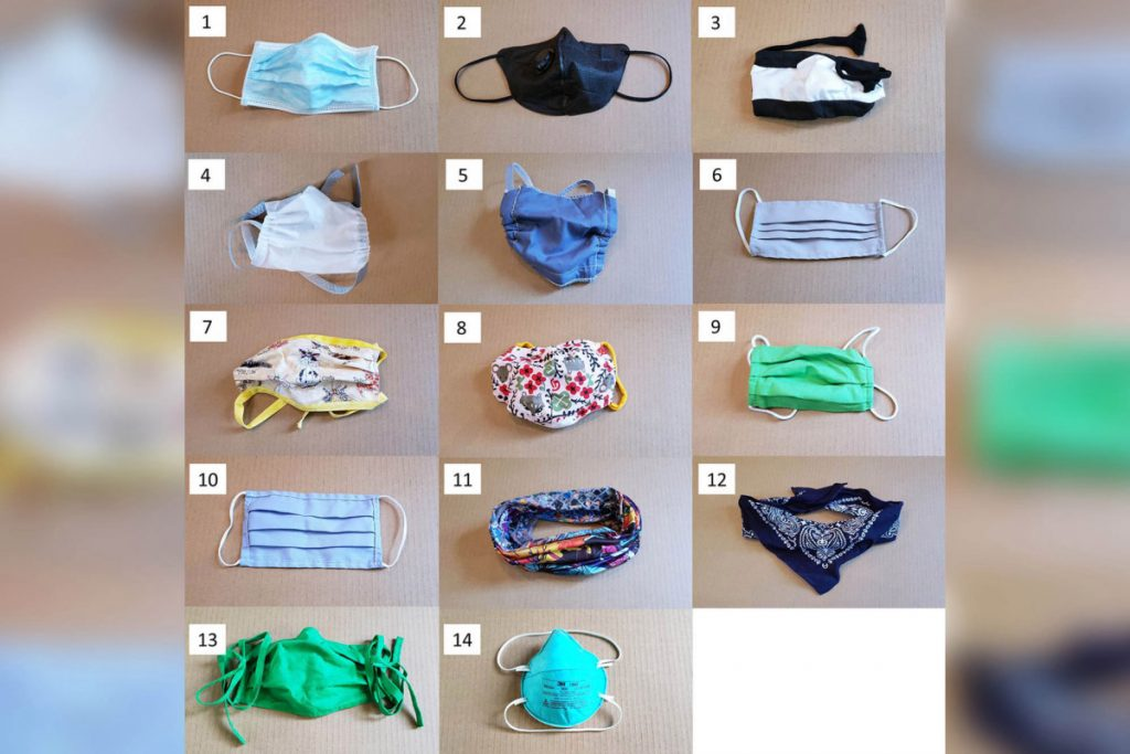 Experts tested 14 styles of masks in avoiding unfold of COVID-19