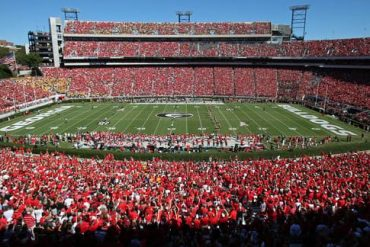 Georgia football schedule front-loaded, 6 weeks between home games at Sanford Stadium