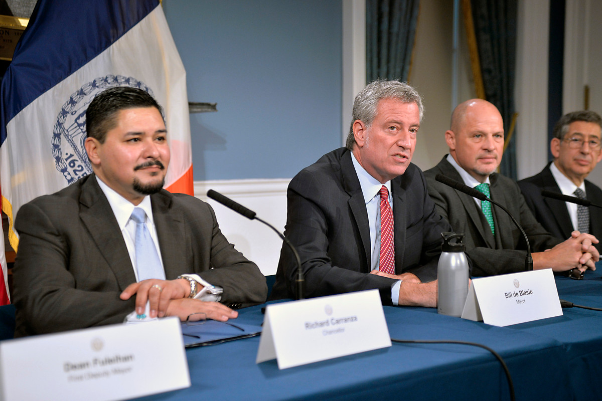 Give de Blasio credit for at least trying to reopen NYC schools